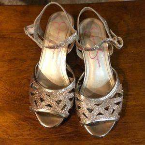 🛍 👠 Jessica Simpson Bettina Glitter sandals